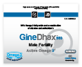 GineDhax Male Fertility Active omega 3